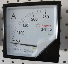 Ampermeters and voltmeters of the EDS series