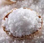 Not iodated edible sal