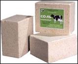 Salt blocks weighing up to 35 kg