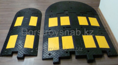IDN rubber limiter of speed 500*500*50mm