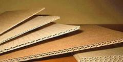 Corrugated cardboard shee