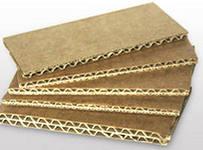 Corrugated fibreboard