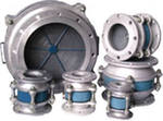 Fire barrier valves
