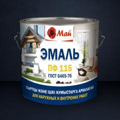 Эмаль ПФ - 115 ГОСТ 6465-76  белая матовая