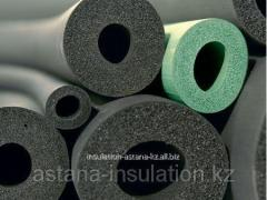 Rubber thermal insulation of the pipes...