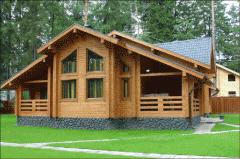 Домик деревянный из бруса
