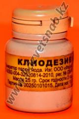 Kliodeziv 25 gr an iodic checker for disinfection