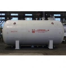 Емкости газовые