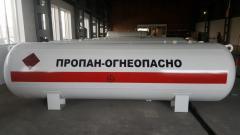 Резервуары наземного размещения отопительные СУГ- 8,5 (6 мм)