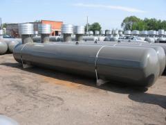 Резервуары подземного размещения без люка, без горловины люка СУГ- 8,5 (6 мм)