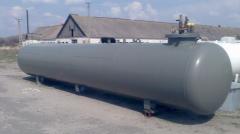 Резервуары подземного размещения без люка, без горловины люка СУГ- 9,2 (6 мм)