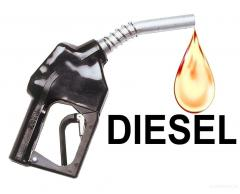 Sale of diesel fuel in Astana