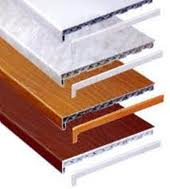 Boards subwindow of PVC in assortmen