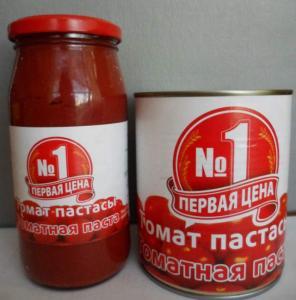 Паста томатная, Первая №1