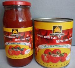 Tomato paste in barrels, 36-38%, China