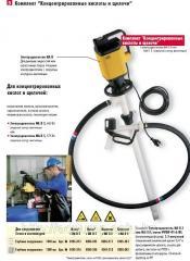 Бочковой насос - Lutz из поливинилденфторида (PVDF
