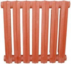 Чугунные секционные отопительные радиаторы