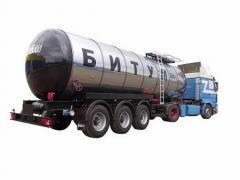 Bitumen road sale in Kazakhstan