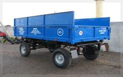 Trailer tractor / p 4-6.5tn