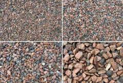 Crushed stone granite all fraction Kazakhstan