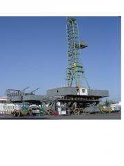 Stationary ZJ40 drilling rig