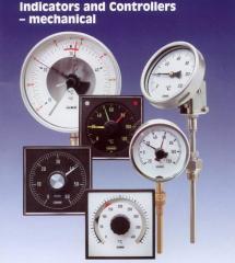 Bimetallic thermometers of various execution
