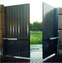 Oar gate, Gate automatic oar high-speed