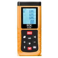 Лазерный дальномер RGK D100 С
