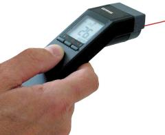 Pyrometer,  non-contact infrared thermometer...