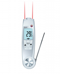 Penetrating waterproof IR thermometer Testo...