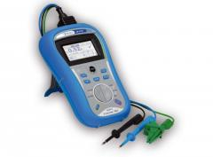 Line impedance meter, circuit and parameters of
