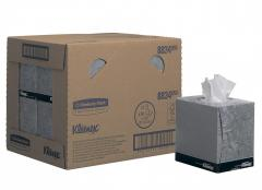 Гигиенические (косметические) салфетки для лица KLEENEX® (куб), 12х90л 8834