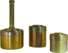 Комплект колец для отбора грунта