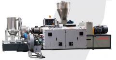 ПВХ ДПК гранулятор 300-1300кгч