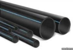 Polyethylene pipes for water and gas supply