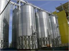 Силосы для хранения зерновых культур