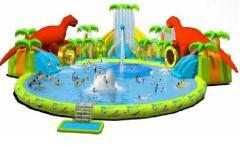 Aquapark inflatable