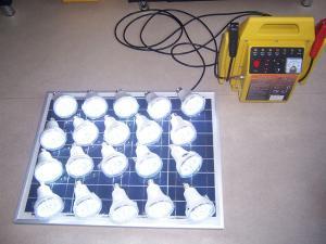 Mobile solar batteries