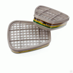 Filters to respirators 6059