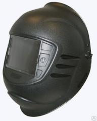 Mask of the welder