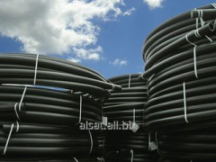 Pipes from HDPE polyethylene of the PE 100 brand