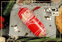 Вареная колбаса Докторская ГОСТ