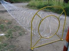 Mobile barrier of safety Fidget, Barriers spiral,