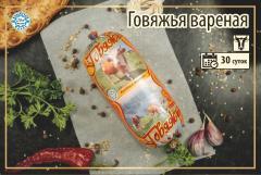 Вареные колбасы Халал