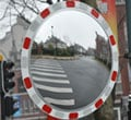 Mirror survey road round 600 mm