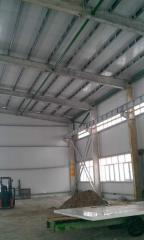 Sandwich panel roofing (minvata) 950*100 from Firm