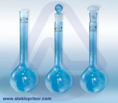 Лабораторная посуда из стекла в ассортименте, Стеклоприбор