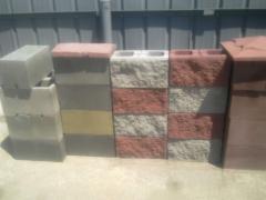 Splitterny blocks