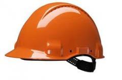 Каски строительные защитные (оранжевые, белые)