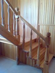 Лестницы деревянные в Казахстане, деревянные